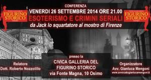 """Conferenza """"Esoterismi e Crimini Seriali"""""""