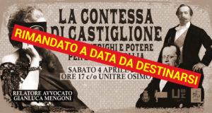 La Contessa di Castiglione: sesso, intrighi e potere per l'Unità d'Italia (RIMANDATO A DATA DA DESTINARSI)